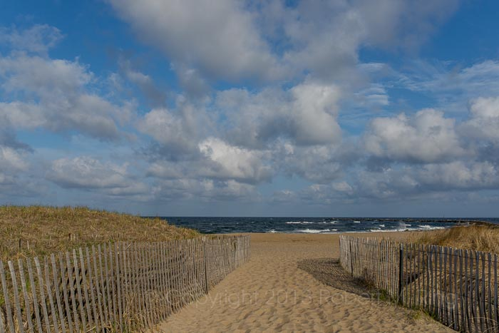Afternoon at Salisbury Beach. Actually about an hour or so before sunset for that warm light and great clouds!