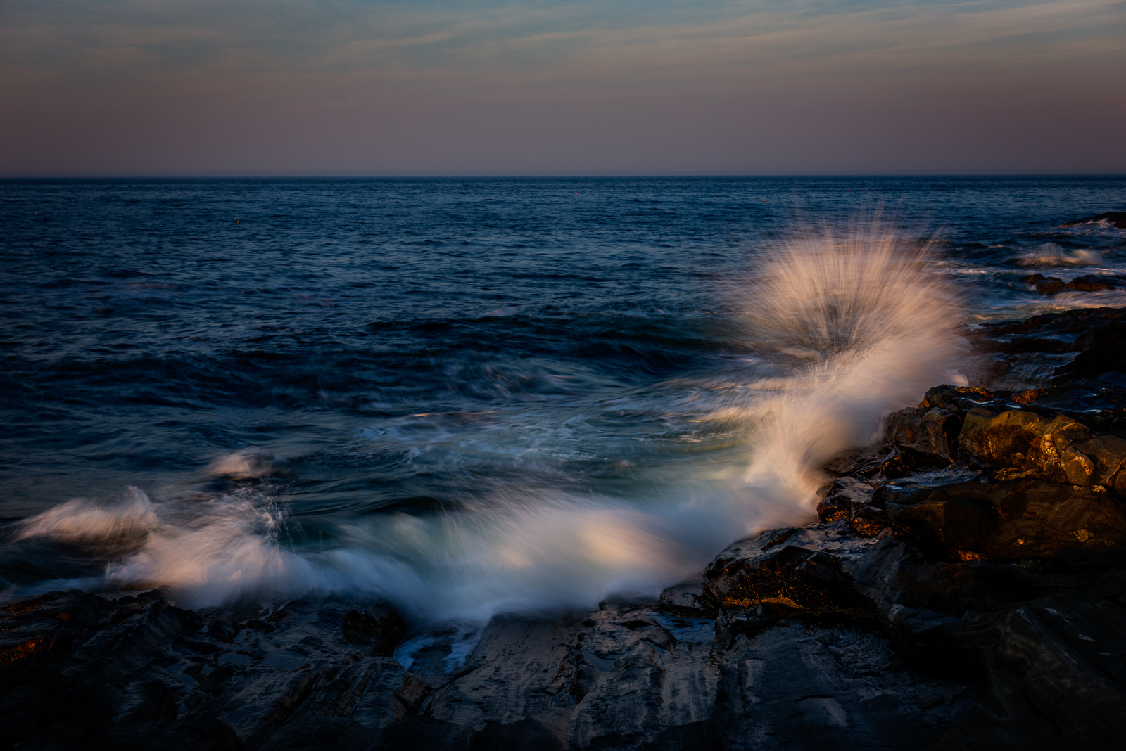 Maine, Maine Coast, Mid-Coast, NEPW, Pemaquid,lighthouse,waves,splash,coast,rocks, photo