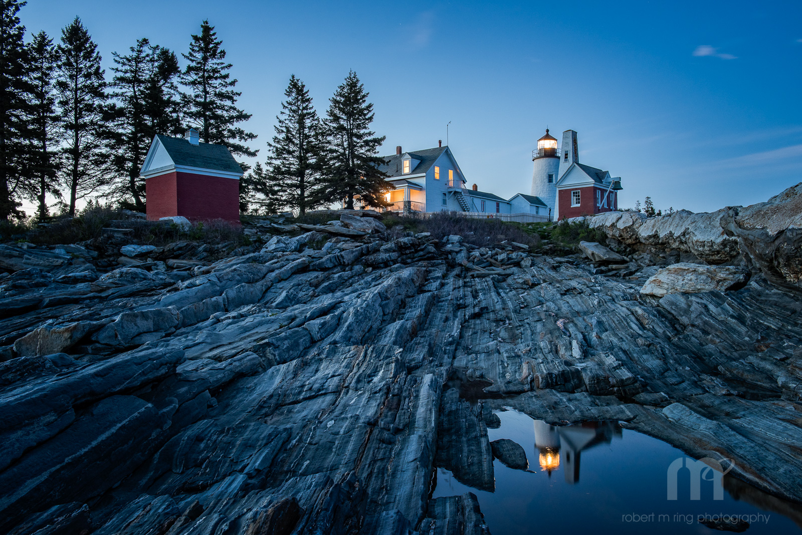 Maine, Maine Coast, Mid-Coast, NEPW,blue hour, new england, lighthouses, photo