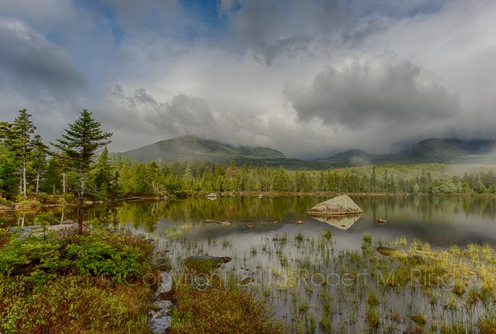 Baxter St Park, Maine, Mt Katahdin, Sandy Stream Pond, New England Photo Workshops, photo