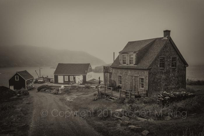 Monhegan Maine, island, fog, rain,New England Photo Workshops, photo