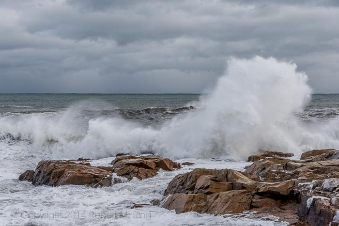 Gloucester, MA, winter, storm, ocean, New England, photo