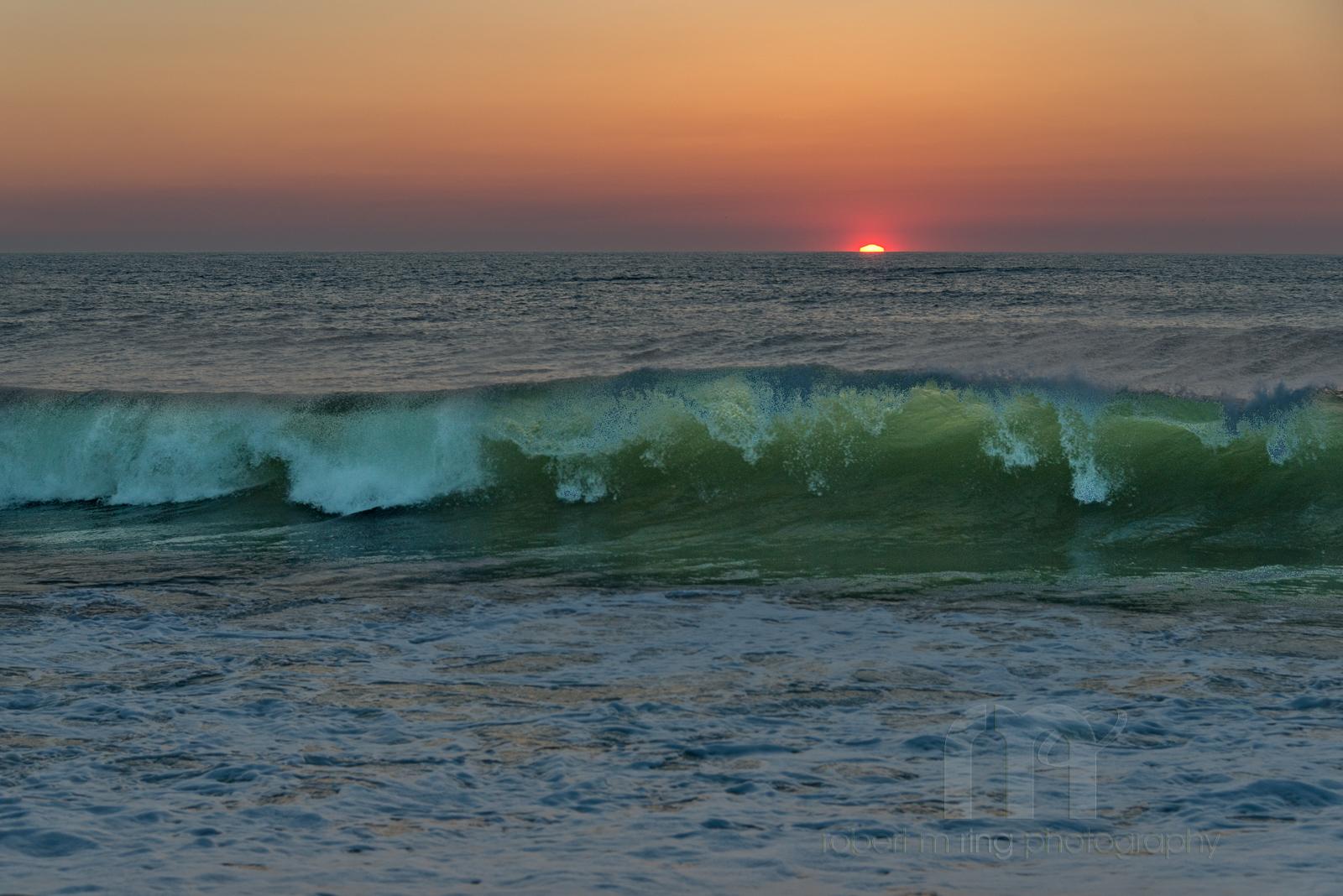 New England, seashore, coast, sunrise, wave, waves, ocean