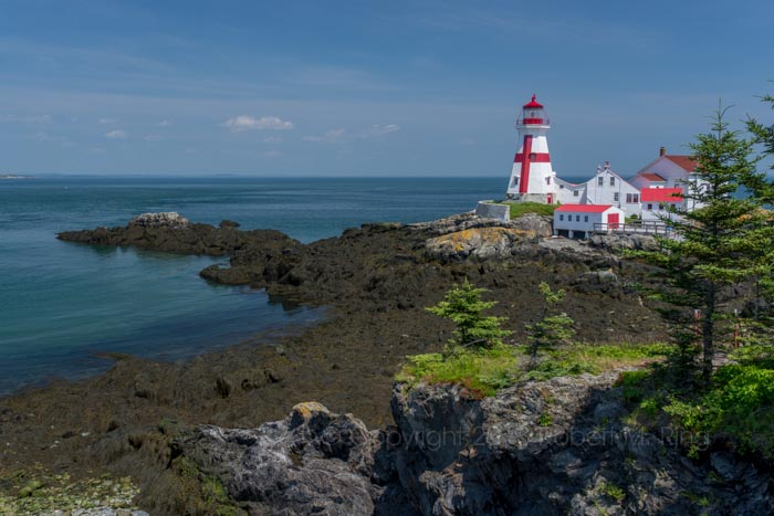 East Quoddy Light, Canada, nb, Head Harbour Lightstation, lighthouse, photo