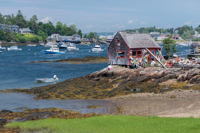 Maine, lobster shack, lobster, coast, Bailey Island, photo