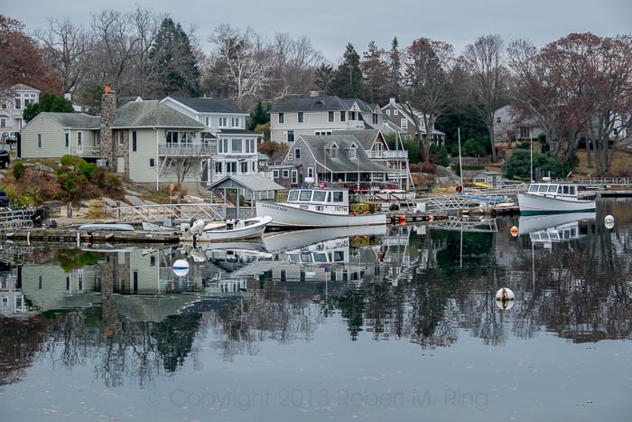 reflections, Annisquam, MA, photo