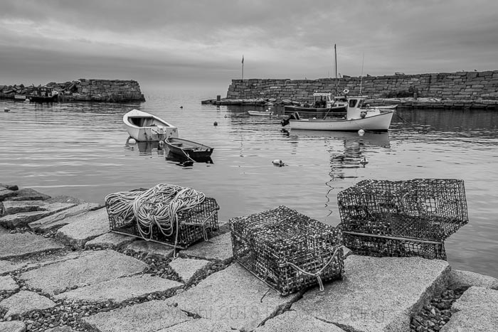 Rockport, MA, lobster boats, photo