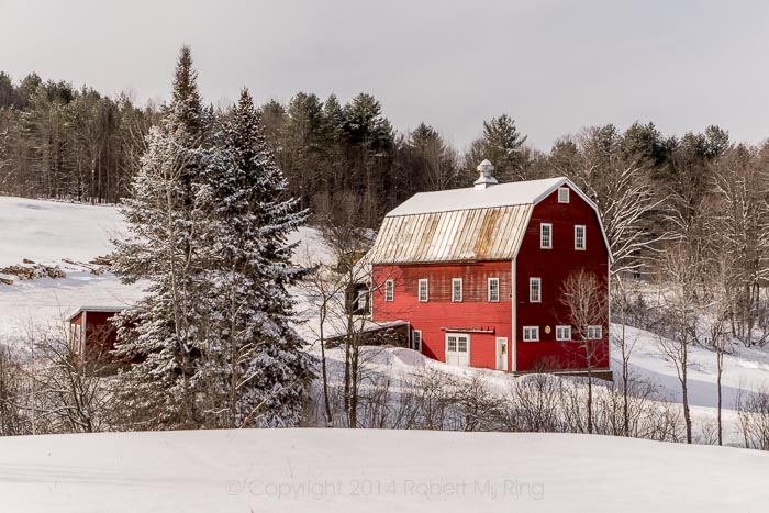 Woodstock, VT, NEW ENGLAND, SCENIC, LANDSCAPE, BARN, RED BARN, New England Photo Workshops, photo