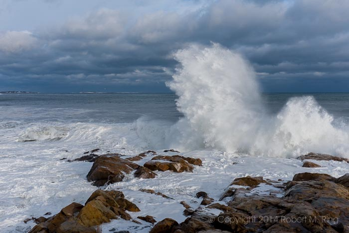 Gloucester, MA, Waves, Ocean, New England, blizzard, photo